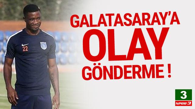 Başakşehir'den Galatasaray'a şok gönderme
