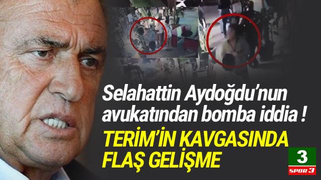 Fatih Terim'in kavgasında flaş gelişme !