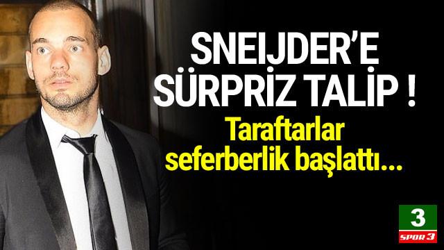Sneijder'e sürpriz talip !