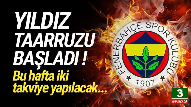 Fenerbahçe'den yıldız taarruzu