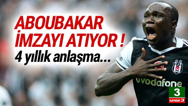 Aboubakar 4 yıllık imzayı atıyor