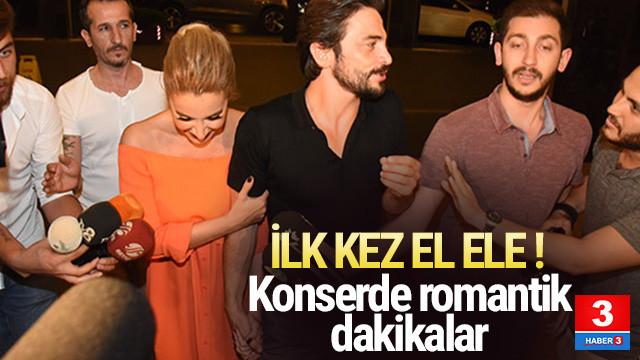 Sıla ile Ahmet Kural ilk kez el ele