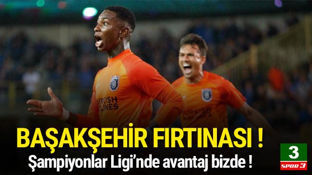 Club Brugge - Başakşehir / Maç sona erdi