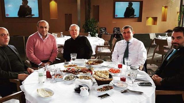 Selahattin Aydoğdu - Aziz Yıldırım fotoğrafı eski çıktı