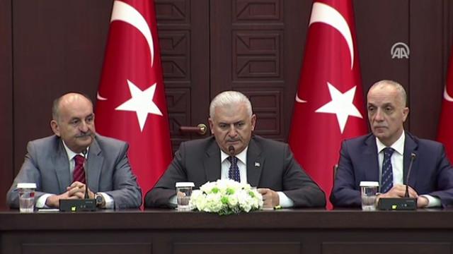 Başbakan Yıldırım toplu iş sözleşmesi zam oranlarını açıkladı