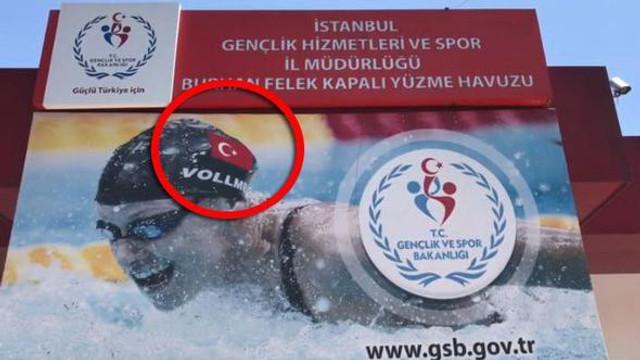 Bakanlık dünya rekortmeni yüzücüyü Türk yaptı !