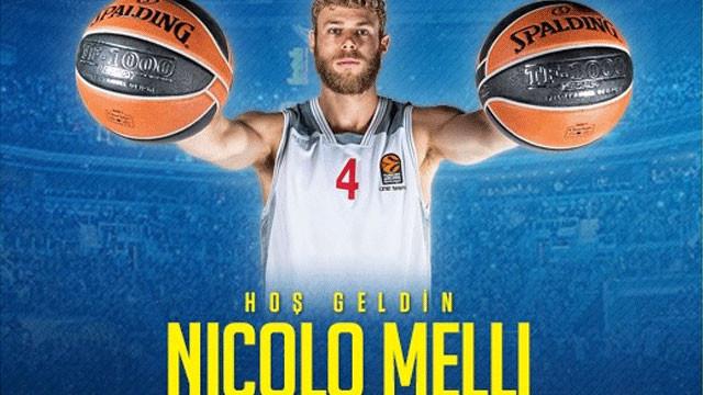Fenerbahçe, Nicolo Melli'ye imzayı attırdı