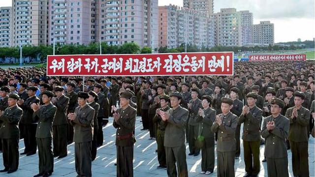 3.5 milyon Kuzey Koreli orduya katılmak istiyor