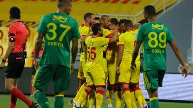 Göztepe-Fenerbahçe: 2-2