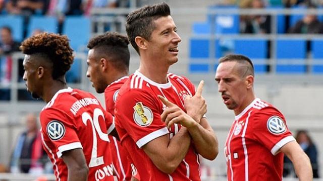 Bayern kupada gol şov yaptı
