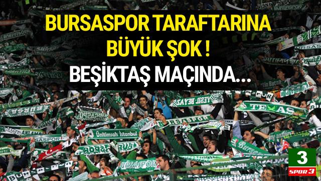 Bursaspor taraftarına deplasman yasağı !