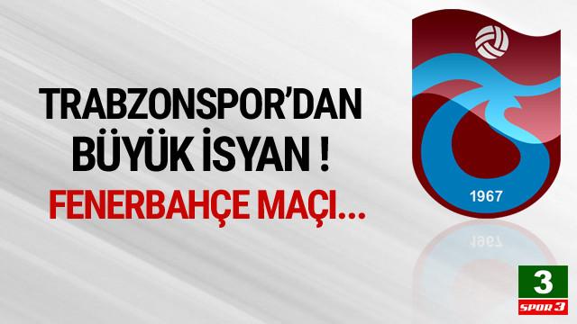 Trabzonspor'dan Ali Palabıyık isyanı