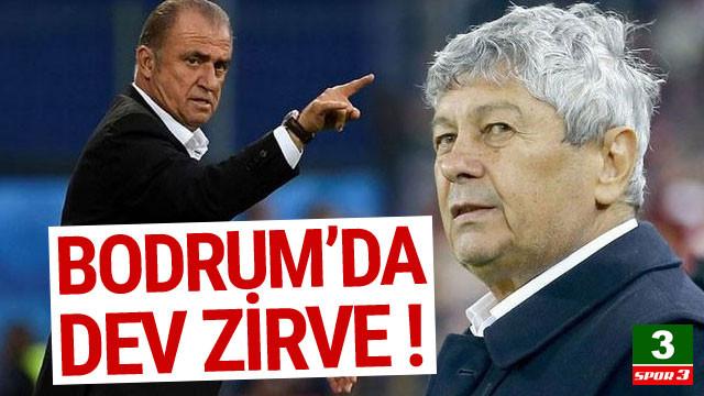 Bodrum'da dev zirve: Lucescu-Fatih Terim...