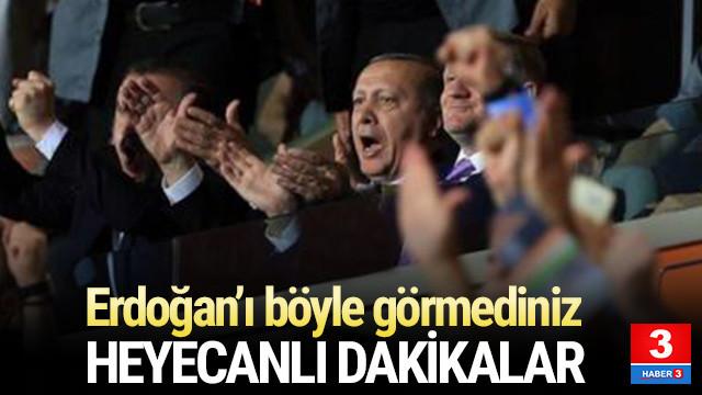 Cumhurbaşkanı Erdoğan Başakşehir'in maçında