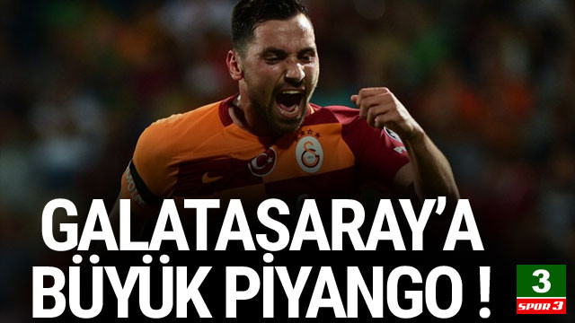 Galatasaray'a 4,5 milyon euroluk piyango