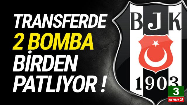 Beşiktaş iki yıldıza birden imza attırıyor