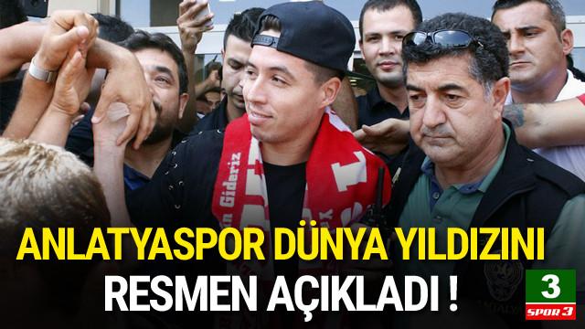 Antalyaspor Nasri'yi resmen açıkladı !
