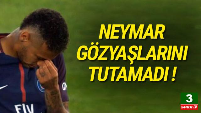 Neymar Barcelona için ağladı
