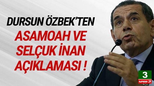 Dursun Özbek'ten flaş Selçuk İnan açıklaması