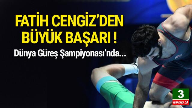 Fatih Cengiz'den büyük başarı