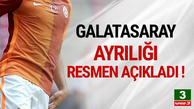 Galatasaray ayrılığı resmen açıkladı