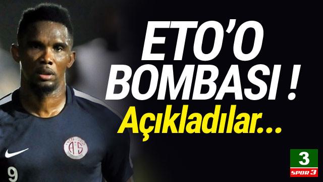 Samuel Eto'o bombası !