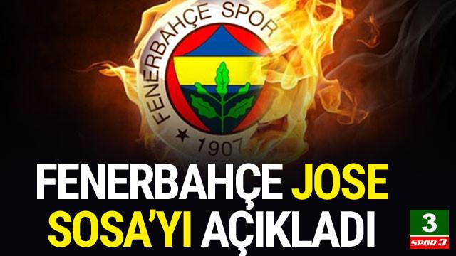 Fenerbahçe'den Jose Sosa açıklaması