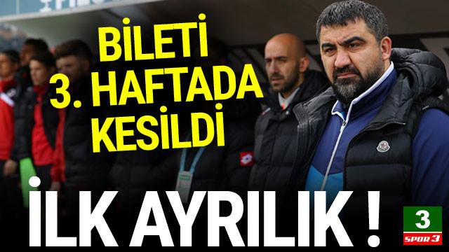 Süper Lig'de flaş ayrılık !