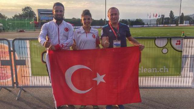 Milli atlet Esra Bayrak Dünya Şampiyonu