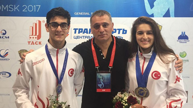 Millilerden Rusya'da 2 madalya daha !