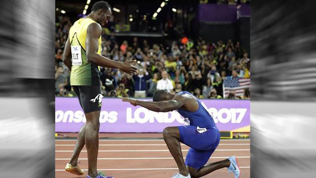 Usain Bolt ilk ve son kez kaybetti !