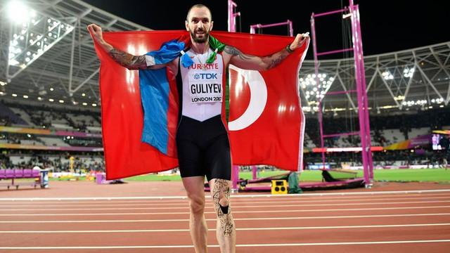Ramil Guliyev'e büyük onur !