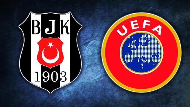 UEFA Beşiktaş'ın cezasını onadı !