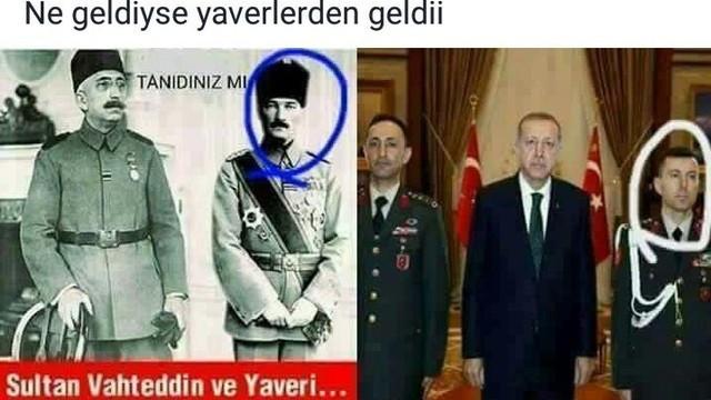 Atatürk'lü ''yaver'' paylaşımı yapan belediye çalışanı kovuldu