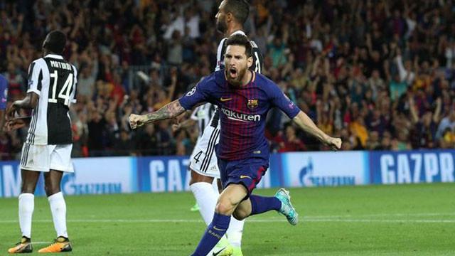 Barcelona Juventus'u farklı geçti