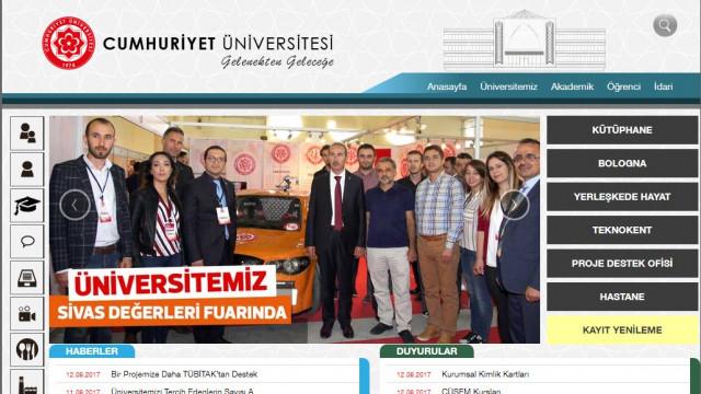 Cumhuriyet Üniversitesi de Atatürk'ü sildi