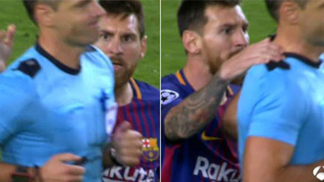 Lionel Messi'nin hareketi tartışma yarattı
