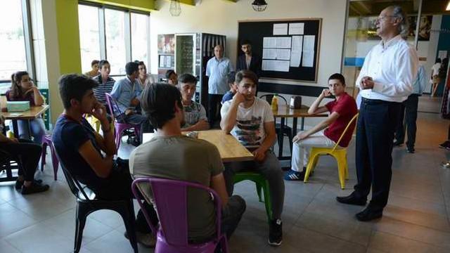 Şebinkarahisarlı öğrenciler Sarıyer'de