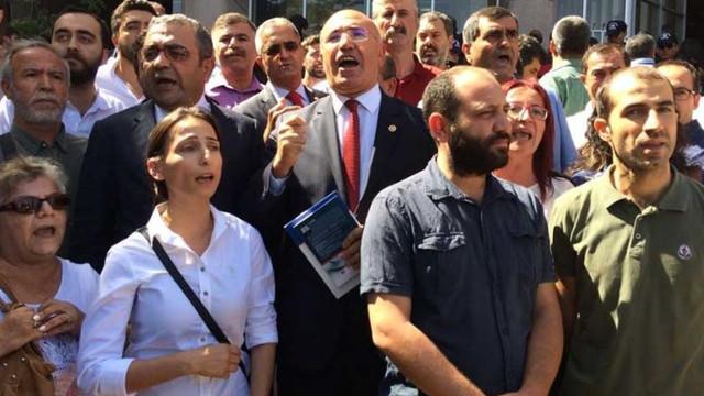 Ankara Adliyesi'nde polis müdahalesi; 24 gözaltı