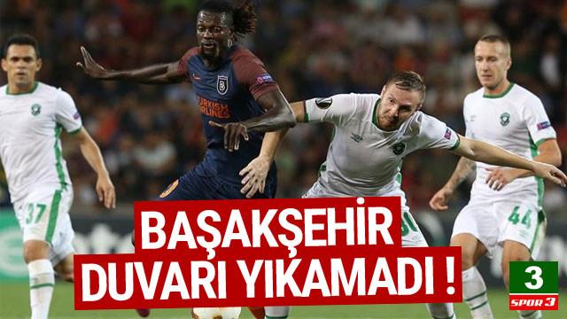 Başakşehir, Ludogorets'i geçemedi