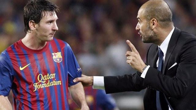 Guardiola: ''Kimse Messi'nin masasına oturamaz''