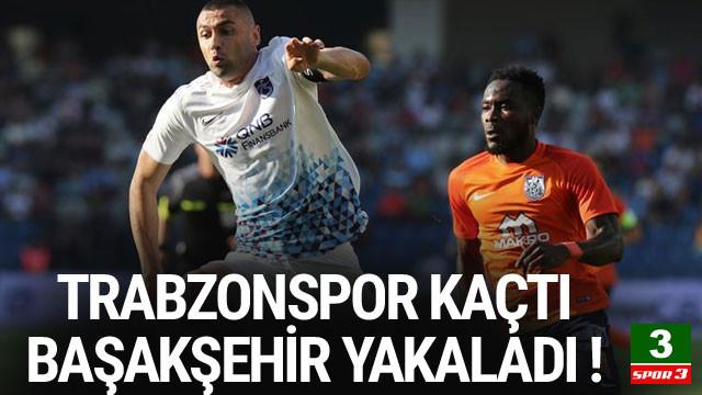 Trabzonspor kaçtı, Başakşehir yakaladı !