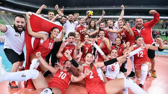 Türkiye Dünya şampiyonu oldu !