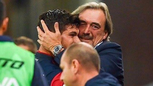 Pietro Pellegri'nin attığı goller babasını ağlattı