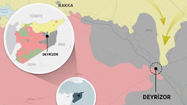PKK/PYD'nin hedefi belli oldu ! Oraya ilerliyor