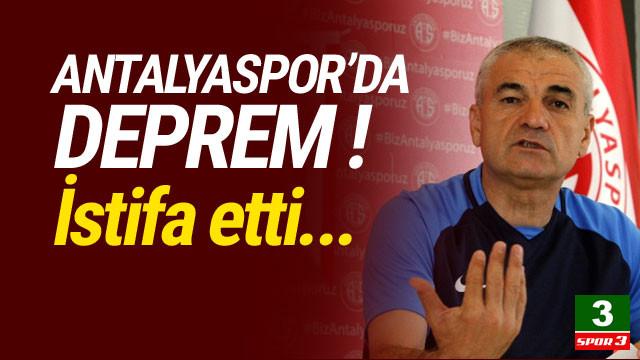 Süper Lig'de flaş bir ayrılık daha !