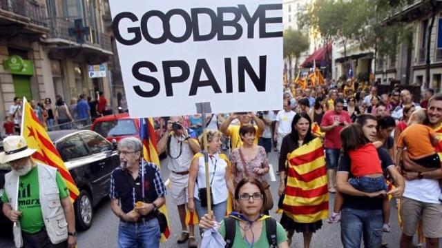 Barselona'da referandum için geri sayım başladı