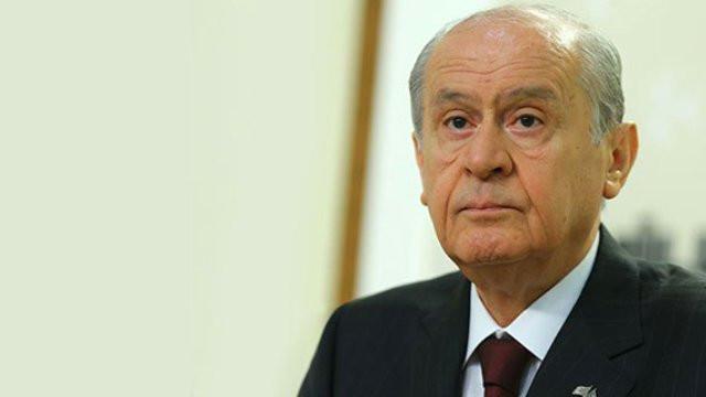 MHP lideri Bahçeli: ''Başka çare yok...''