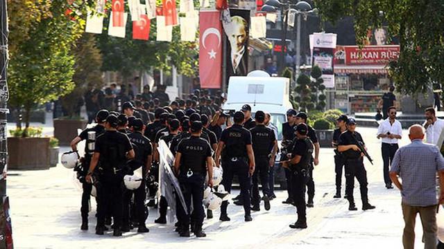 Polisten geniş önlem ! Çembere alındı