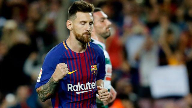 Lionel Messi'yi durdurmak imkansız !